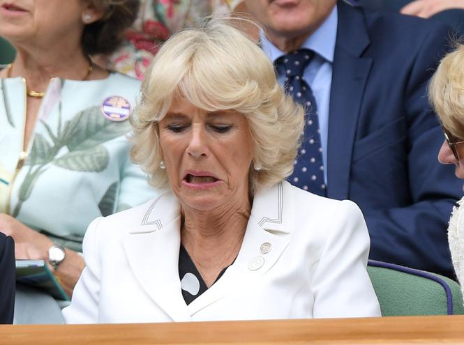 Фото №15 - И смех, и слезы: звезды на трибунах Уимблдона глазами фотографов