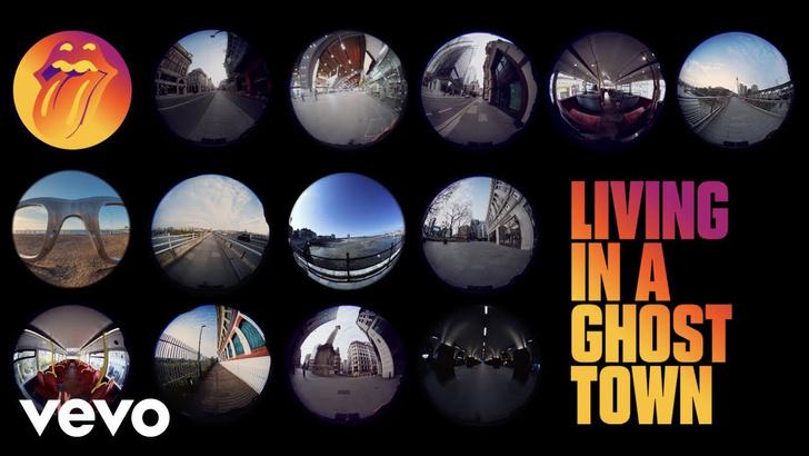 Фото №1 - The Rolling Stones выпустили песню про опустевшие города (видео)