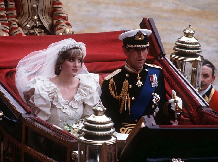 Фото №1 - Трагедия невесты: о ком на самом деле думала Диана на своей свадьбе