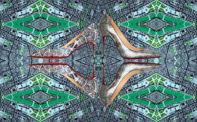 Фото №15 - В поисках Парижа: капсульная коллекция Plan de Paris Christian Louboutin