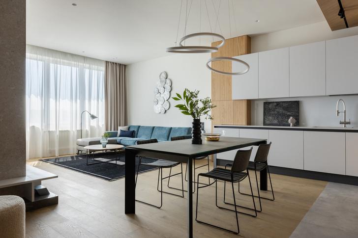 Фото №1 - Уютная квартира 120 м² для большой семьи в Москве