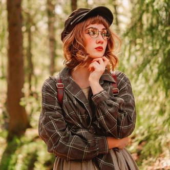 Фото №27 - Самый безмятежный тренд лета: как одеться в стиле коттеджкор