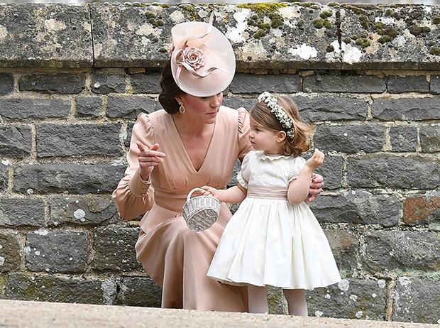 Фото №5 - Принцесса Шарлотта и принц Джордж на свадьбе Пиппы Миддлтон (фото)