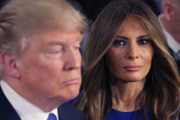 Фото №1 - Вышла из игры: Мелания Трамп открыто игнорирует Дональда Трампа