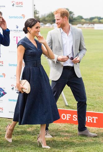 Фото №3 - Меган Маркл приехала поддержать принца Гарри на матче по поло