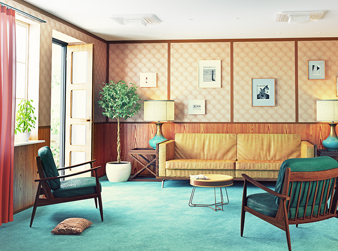 Фото №2 - Бабушкина квартира, или Правила дизайна интерьера в стиле Mid-century
