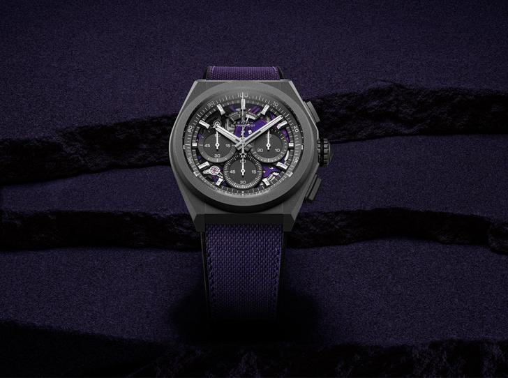 Фото №1 - Царственный фиолетовый: Zenith представил часы в новом цвете