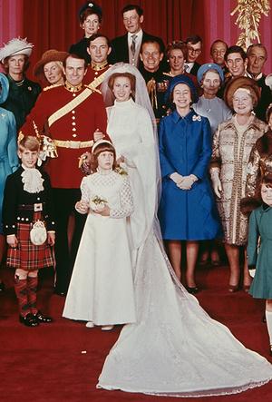 Фото №16 - Первая свадьба принцессы Анны: как выходила замуж дочь Елизаветы II