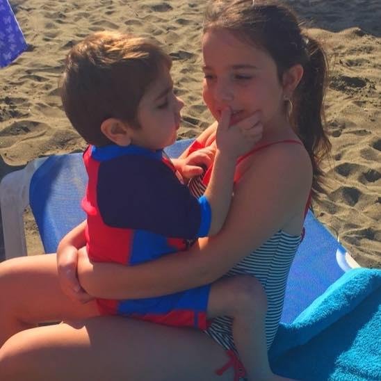 Дилан с сестрой