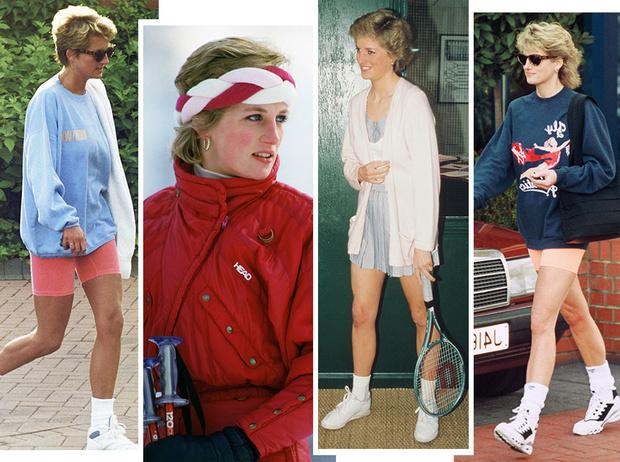 Фото №1 - Спортивная принцесса: как Диана одевалась на тренировки