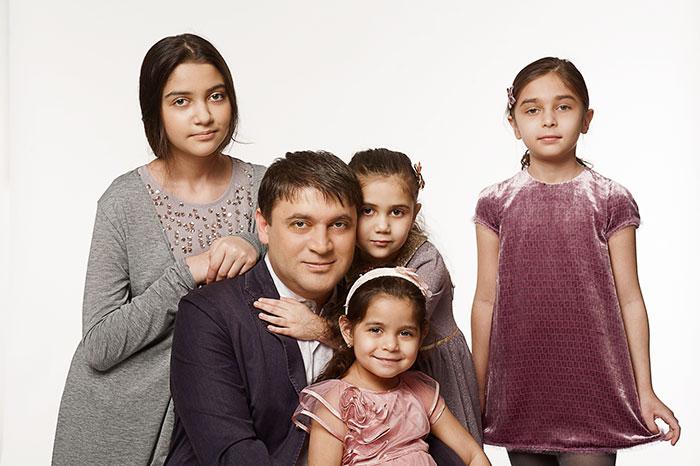 Фото №1 - Буша Гоман: «Мы с женой несколько лет считали, что у нас не может быть детей»