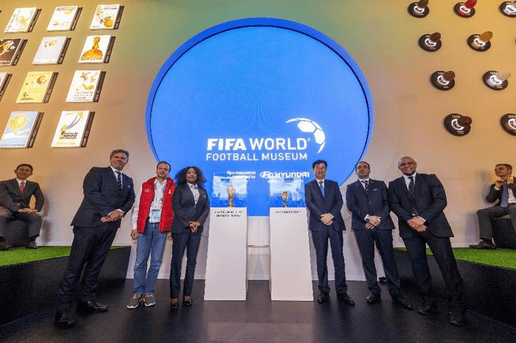 Фото №1 - В «Музее мирового футбола FIFA при поддержке Hyundai» прошла серия ток-шоу с легендами мирового футбола