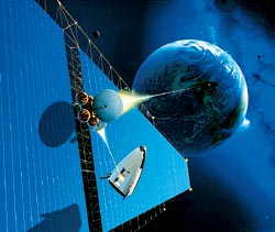 Фото №1 - Японская компания планирует установить на Луне солнечные батареи