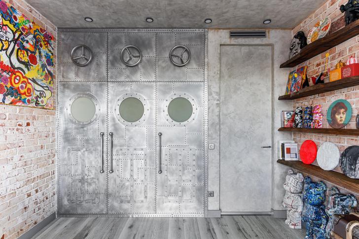 Фото №4 - Яркий лофт для коллекционеров искусства в Москве
