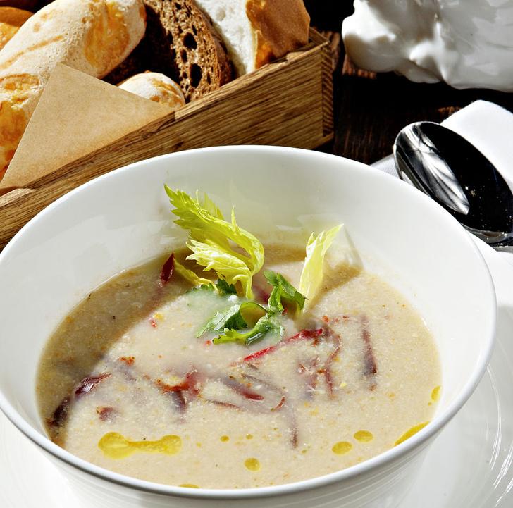 Фото №1 - В общем котле: пошаговый рецепт креольского супа ахиако