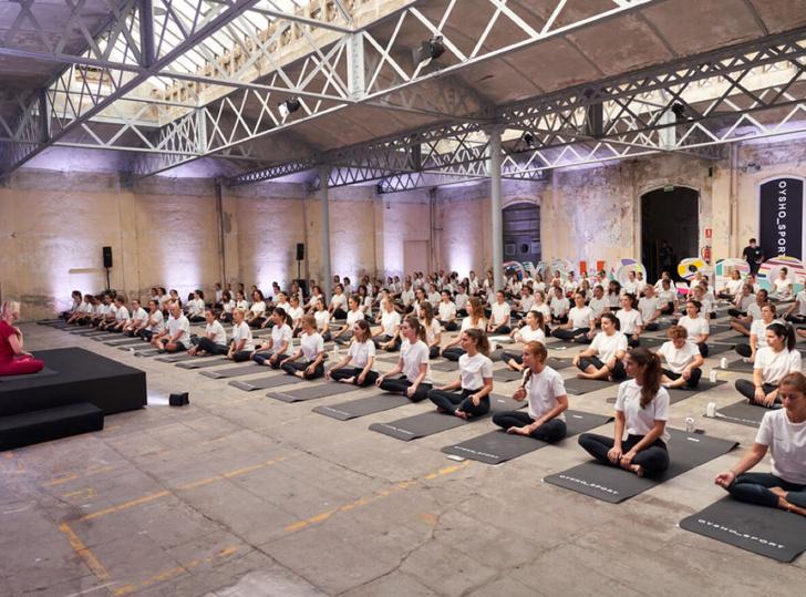 Фото №1 - Oysho Sport организует тренировки вкрупнейших европейских столицах