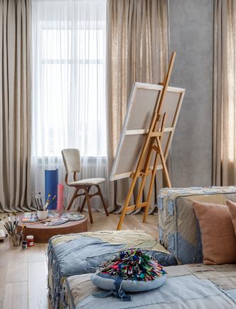 Фото №3 - Zero-waste: московская квартира 79 м² для молодой художницы