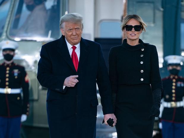 Фото №3 - Неожиданное сходство: почему Меланию Трамп сравнивают с герцогиней Камиллой