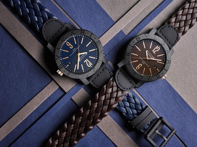Фото №1 - Новое – это хорошо забытое старое: часы BVLGARI BVLGARI Carbon Gold