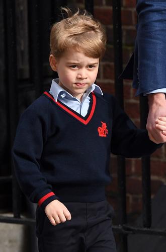 Фото №4 - Крутой Джордж: новое фото принца признано лучшим (и очень смешным)