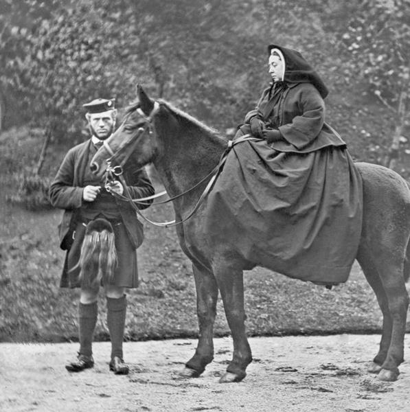 Джон Браун и Виктория