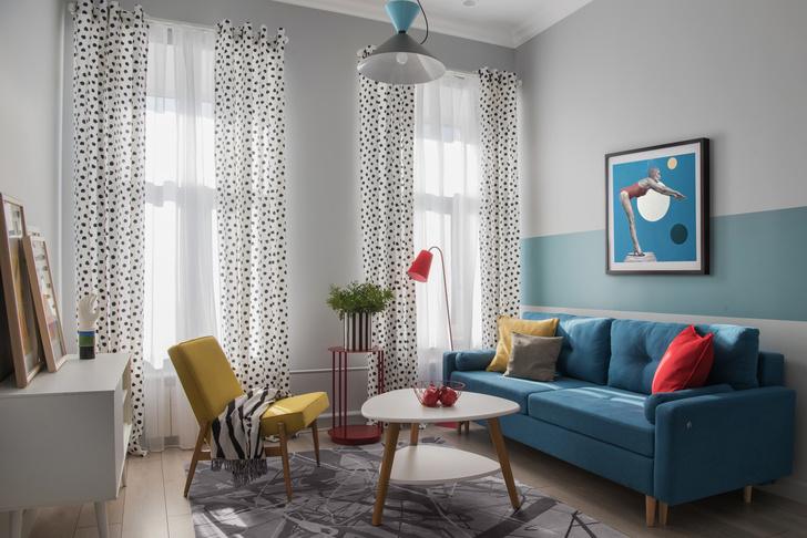 Фото №4 - Как увеличить комнату с помощью краски: 8 идей