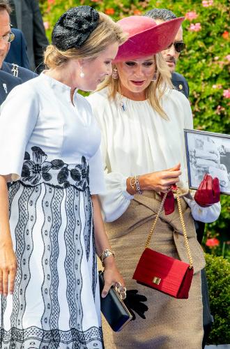 Фото №4 - Королева Нидерландов и королева Бельгии выступили вместе на особом праздновании