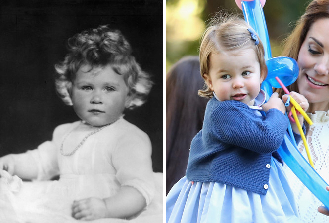 Фото №2 - Глаза Дианы, улыбка Елизаветы: с кем теперь сравнивают принцессу Шарлотту