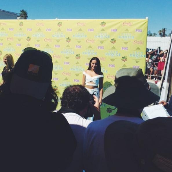 Фото №13 - Звездный Instagram: Teen Choice Awards 2015