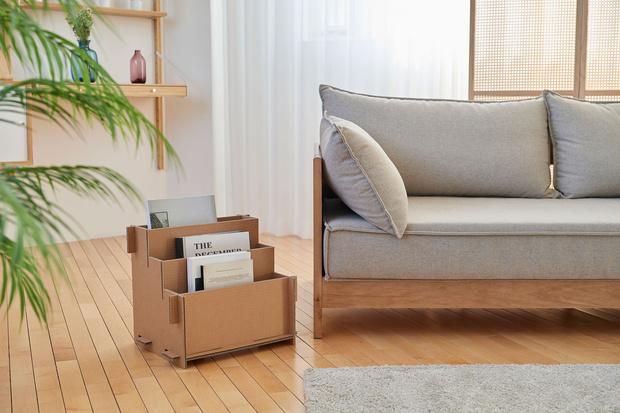 Фото №3 - Из коробок от телевизоров Samsung теперь можно сделать домик для кошки, стеллаж или подставку под Xbox
