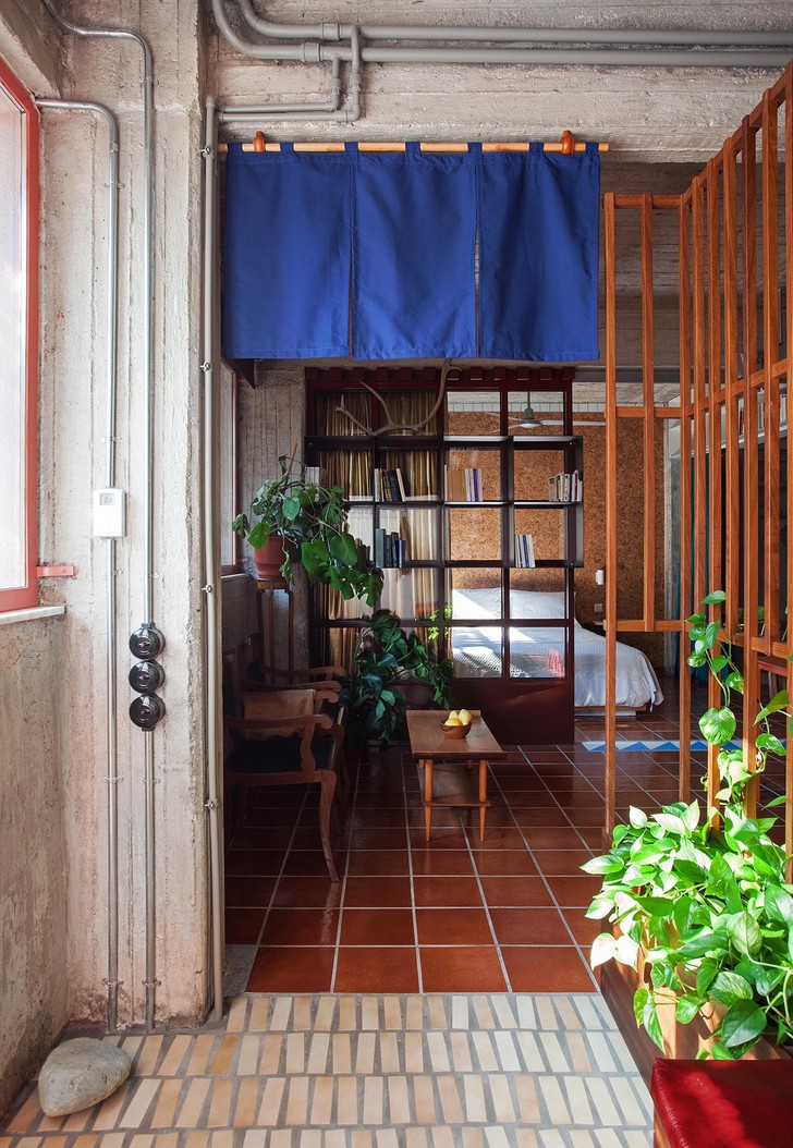 Фото №2 - Бетонная квартира в Афинах