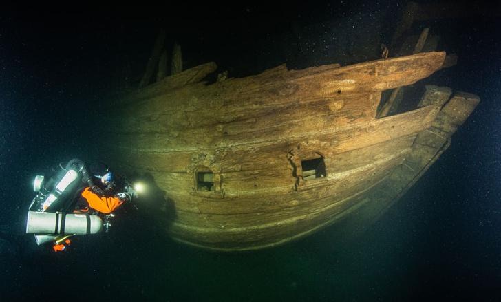 Фото №1 - На дне Финского залива найден парусник XVII века