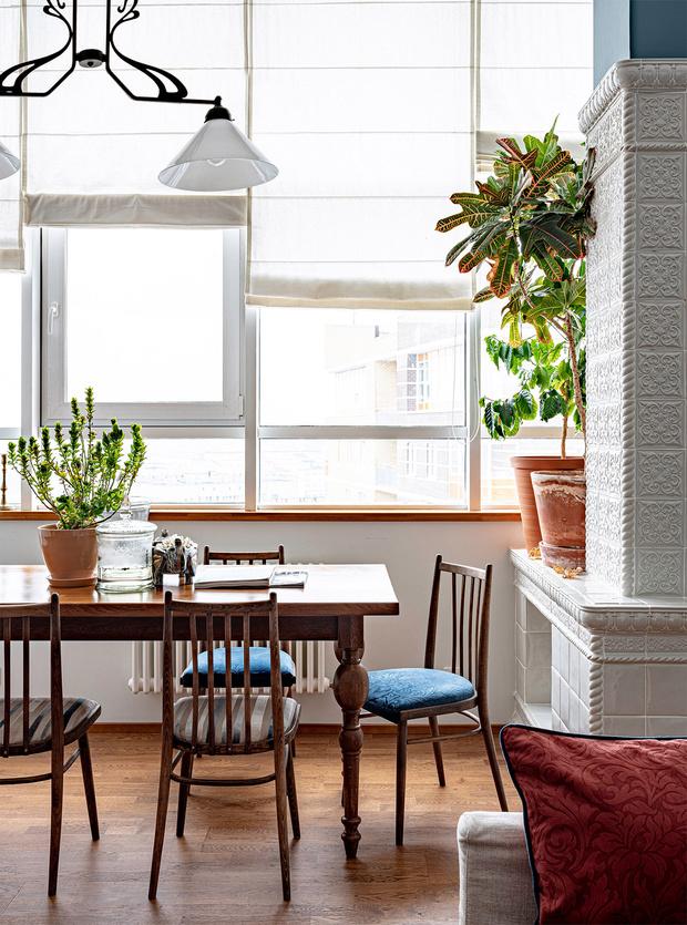 Фото №3 - Двухэтажный пентхаус в стиле бохо в Перми