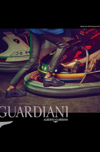 Фото №2 - Вечерний выход: новая рекламная кампания Alberto Guardiani осень-зима 16/17
