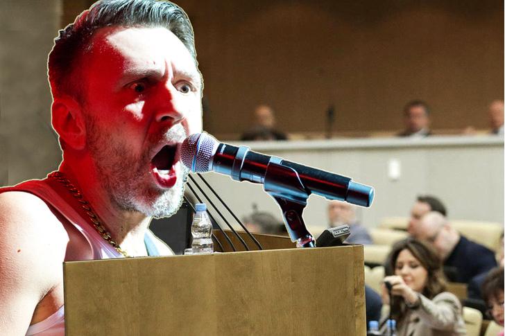 Фото №1 - «Членом быть мне не впервой»: Шнур матерными стихами ответил на хайп вокруг его вступления в политику
