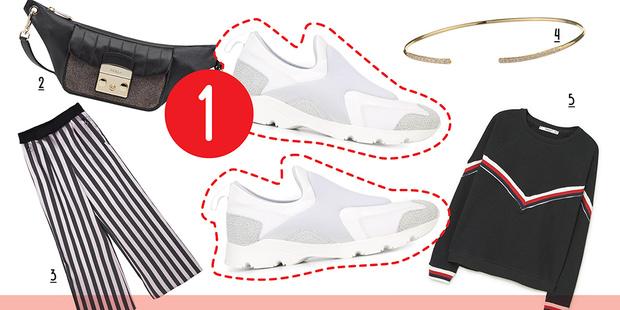 Фото №2 - 5 способов носить белые кроссовки