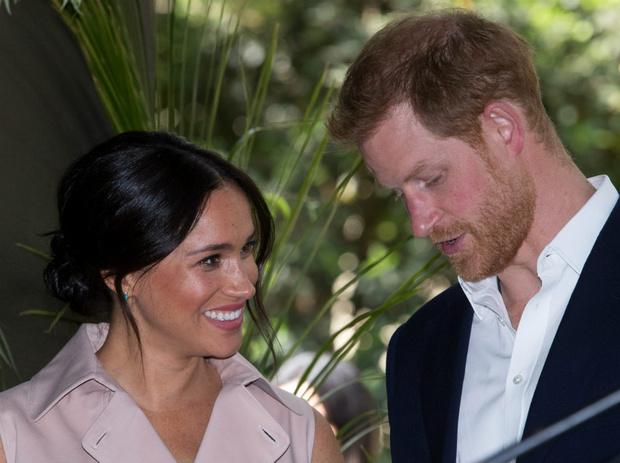 Фото №1 - Влюбленный принц: как и где Гарри понял, что Меган его судьба