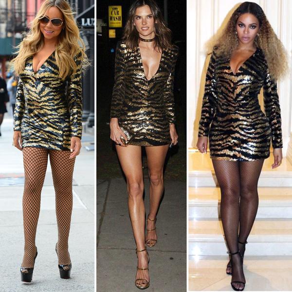Фото №12 - Что винить — платье или фигуру? Почему так по-разному выглядят звезды в одинаковых нарядах