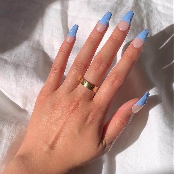 Фото №3 - Какая форма ногтей в тренде этой осенью: 12 идей для стильного маникюра