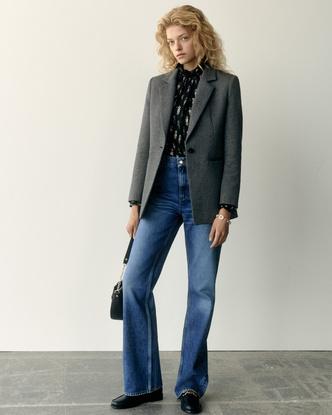 Фото №2 - Как носить стиль бохо в холода: осенняя инструкция от Claudie Pierlot