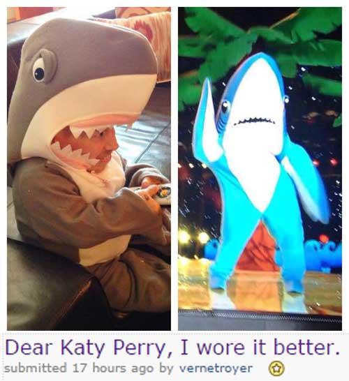 Фото №11 - Шоу Кэти Перри на «Супер Боул-2015» породило множество мемов