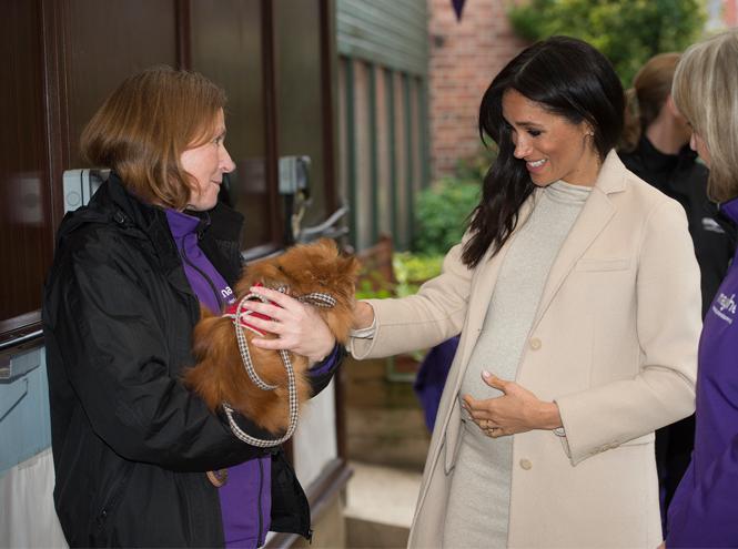 Фото №7 - Как Меган привлекает внимание к своей беременности: все стильные уловки герцогини