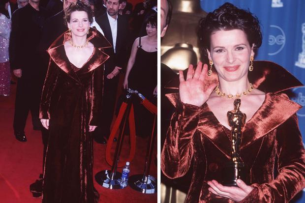 Жульет Бинош, 1997 оскар худшее платье