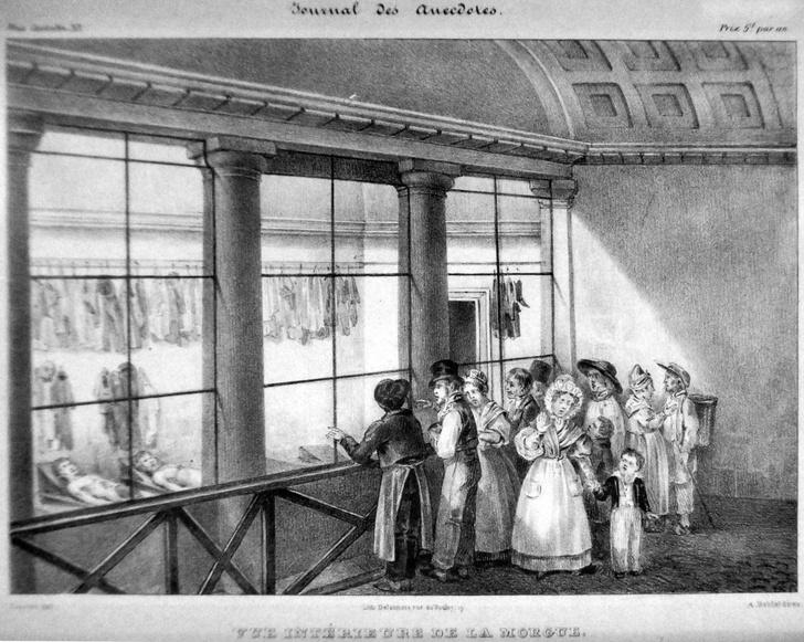 Фото №1 - Как парижский морг в XIX веке привлекал сотни тысяч зевак