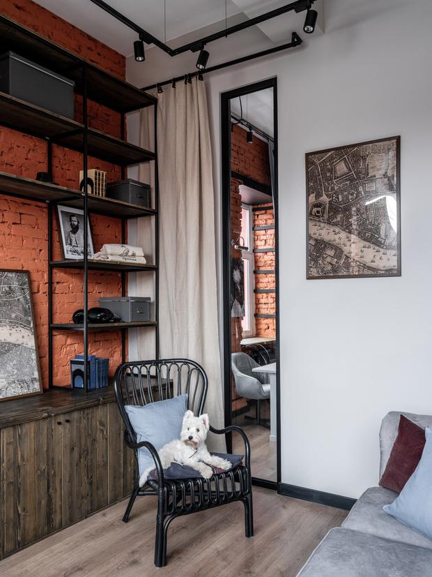 Фото №5 - Новый формат жизни: квартира-офис 52 м²