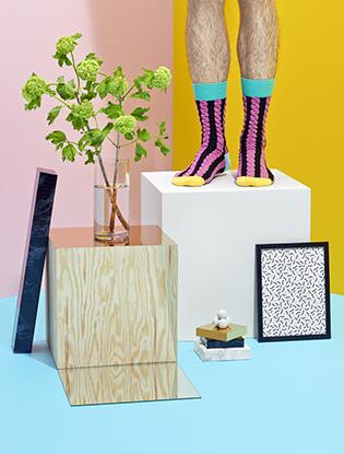 Фото №3 - В SOHO появилась коллекция носков Happy Socks