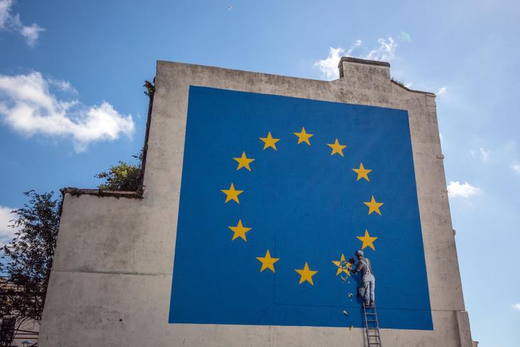 Фото №1 - Граффити о Брекзите