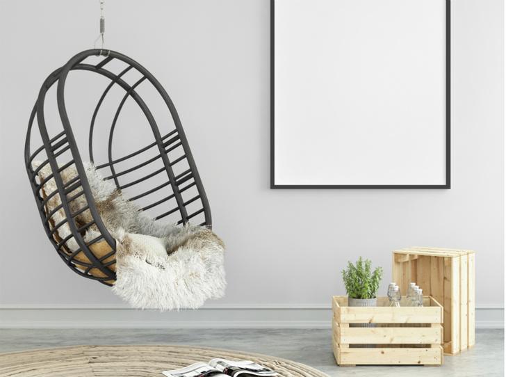 Фото №6 - Подвесное кресло как часть интерьера: советы дизайнеров