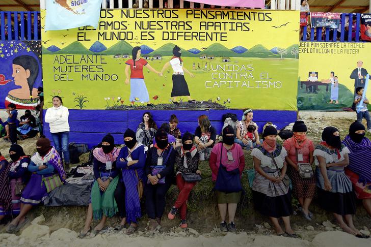Фото №1 - Новый мир в штате Чьяпас: жизнь революционных сапатистов в Мексике