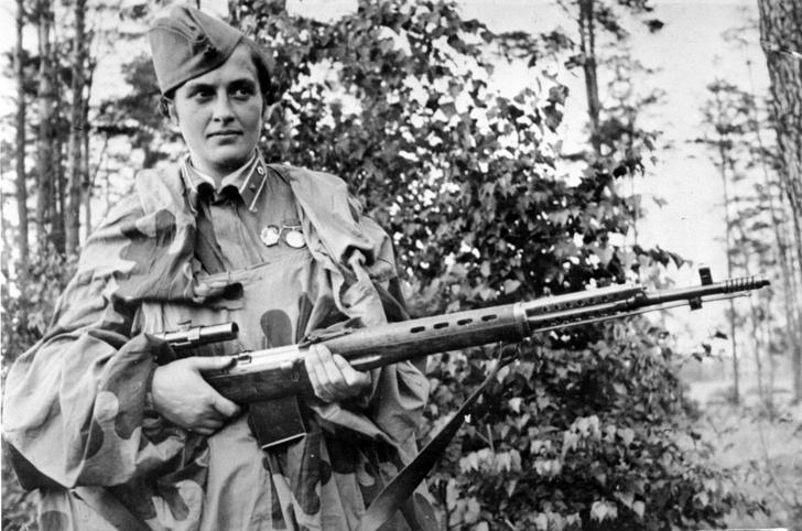 Фото №1 - «Miss Pavlichenko»: за что американцы посвятили советской женщине песню